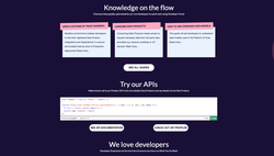 Platform of Trust developer portal screenshot