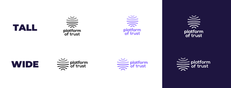 Logot kaikki Platform of Trust